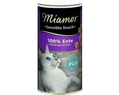 Friandise pour chat Miamor Sensible canard pur 30g