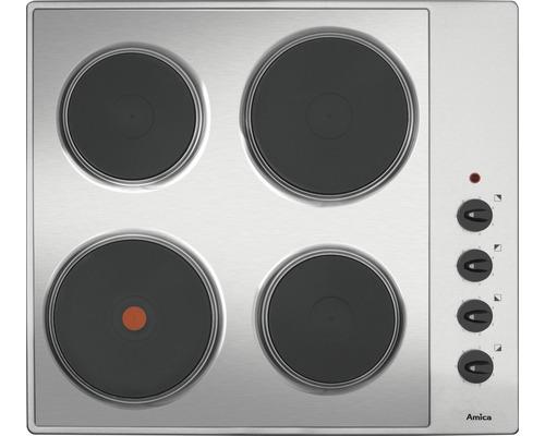 Plaque de cuisson moulure acier inoxydable Amica KME 13139 E largeur 60cm