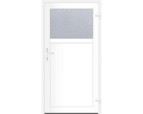 Porte d''entrée secondaire Missouri 98x198 cm DIN ouverture à droite vers l''extérieur 1/3 verre
