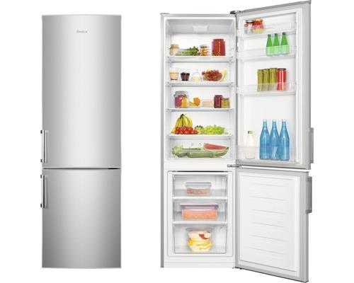 Réfrigérateur-congélateur Amica KGC 388 100 E lxhxp 55.4 x 180 x 60.5 cm compartiment de réfrigération 198 l compartiment de congélation 71 l