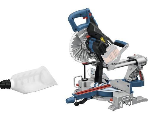 Scie à onglet radiale sans fil Bosch GCM 18V-216 18V BITURBO, sans batterie ni chargeur BITURBO Technologie