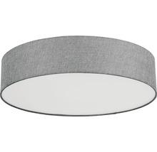 Plafonnier LED RGB CCT à intensité lumineuse variable effet cristal 33W 3500 lm 2700-6500 K blanc chaud - blanc naturel Crosslink gris blanc hxØ 150x570 mm avec télécommande-thumb-1