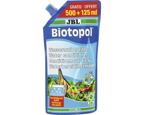 Préparateur d''eau JBL Biotopol recharge 500 + 125 ml