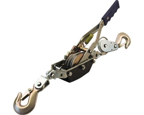 Treuil à câble avec clé à cliquet pour déplacement horizontal 1200 mm