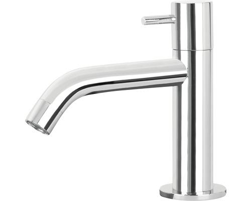Robinet de lave-mains robinet d''eau froide coudé chrome