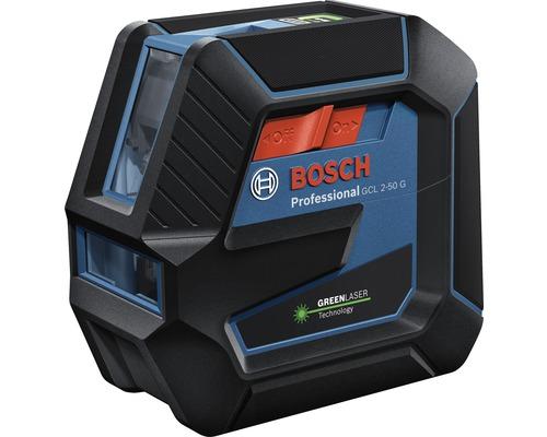 Laser à lignes croisées Bosch Professional GCL 2-50 G avec trépied BT 150