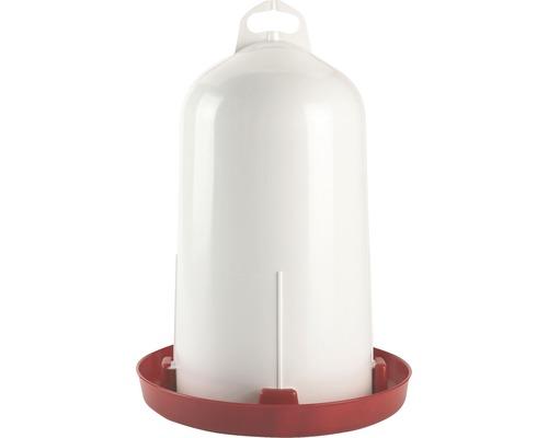Abreuvoir en plastique à double cylindre 12 l.