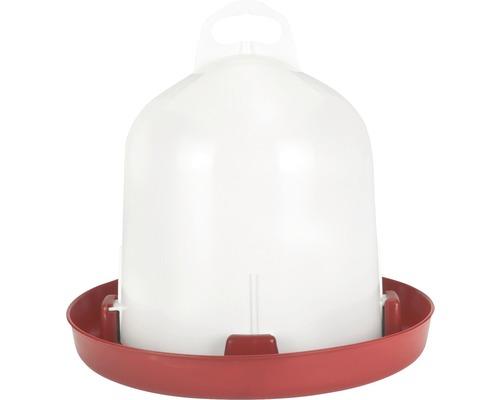Abreuvoir à double cylindre pour volailles élevées au sol 6 l