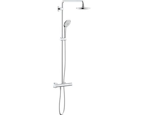 Colonne de douche avec thermostat GROHE Euphoria System 180 chrome 27296001