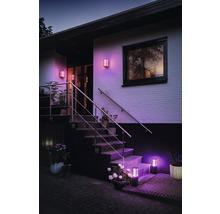 Applique murale Philips hue Impress White & Color Ambiance 8 W 1 200 lm noir H 240x190 mm-thumb-4