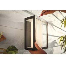 Applique murale Philips hue Impress White & Color Ambiance 8 W 1 200 lm noir H 240x190 mm-thumb-3