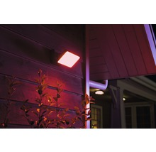 Projecteur LED Philips hue Discover White & Color Ambiance 15 W 2 300 lm noir 153x220 mm-thumb-0