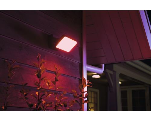 Projecteur LED Philips hue Discover White & Color Ambiance 15 W 2 300 lm noir 153x220 mm