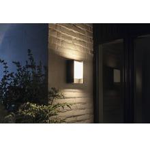 Applique murale LED Philips hue Fuzo White Ambiance 15W 1150 lm 2700 K blanc chaud noir h 221 mm - compatible avec SMART HOME by HORNBACH-thumb-0
