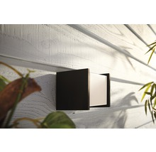 Applique murale LED Philips hue Fuzo White Ambiance 15W 1150 lm 2700 K blanc chaud noir 130x140 mm - compatible avec SMART HOME by HORNBACH-thumb-3