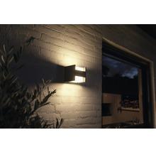 Applique murale LED Philips hue Fuzo White Ambiance 15W 1150 lm 2700 K blanc chaud noir h 130 mm - compatible avec SMART HOME by HORNBACH-thumb-4
