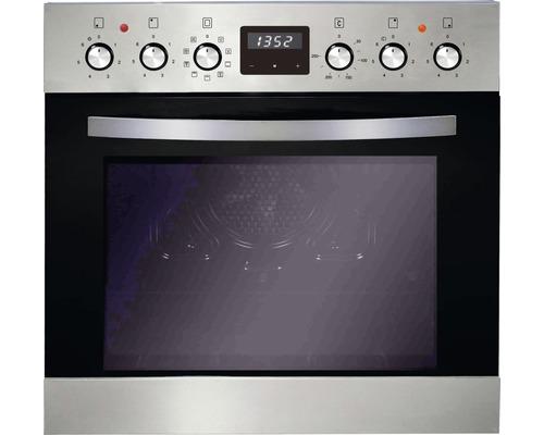 Ensemble cuisinière PKM BIC8 GK-2KB IX 4, volume utile 76 l avec plaque de cuisson vitrocéramique