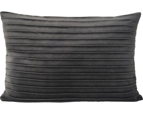 Dekokissen Velvet grau 40x60 cm
