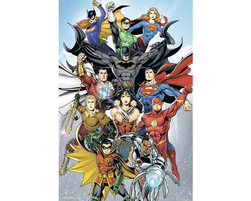 Maxiposter DC Comics - rebirth 61x91,5cm