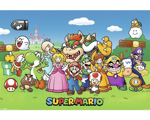Maxiposter Super Mario 61x91,5cm