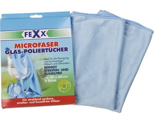 Chiffons microfibres pour polir les vitres Bümag