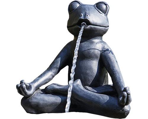 Figurine de bassin Grenouille Yoga 25 x 18 x 23 cm
