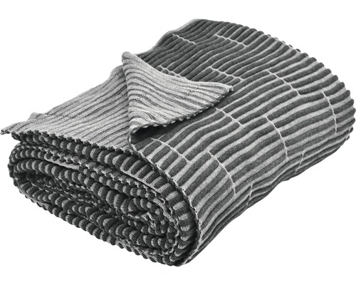 Wohndecke Kim 150x200 cm dunkelgrau