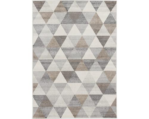 Tapis Montana triangle marron 80x150cm