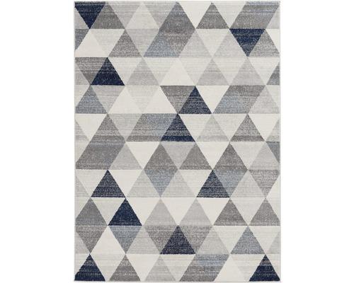 Tapis Montana triangle bleu 80x150cm