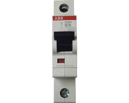 Disjoncteur automatique ABB S201-B10 10A B 1 pôle