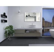 LED Badspiegel DSK Silver Boulevard 70x120 cm IP 21 (tropfwassergeschützt) (tropfwassergeschützt)-thumb-3
