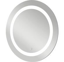 LED Badspiegel Silver Sun mit Alurahmen Ø 59 cm IP 24 (spritzwassergeschützt)-thumb-5