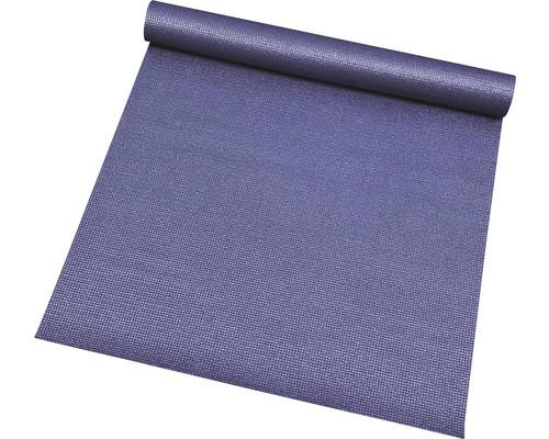 Tapis de fitness antidérapant Sports bleu foncé 66x185 cm