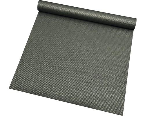 Tapis de fitness antidérapant Sports anthracite 66x185 cm