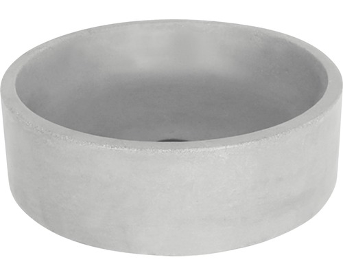 Vasque à poser Marba 42cm béton, gris