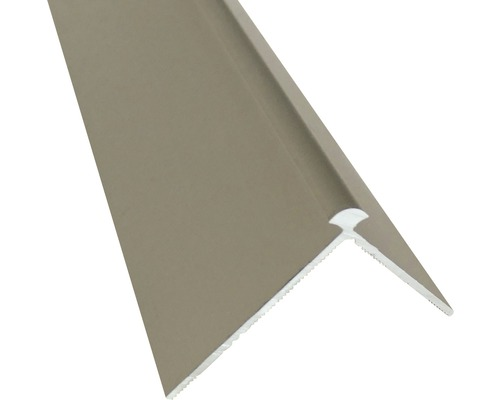 Barre profilée angle extérieur Slate-Lite F-Line argent 2,5 m