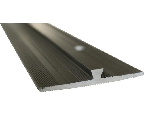 Barre profilée de jonction Slate-Lite F-Line acier 2,5 m