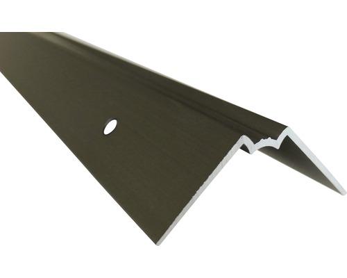 Barre profilée angle intérieur Slate-Lite F-Line acier 2,5 m