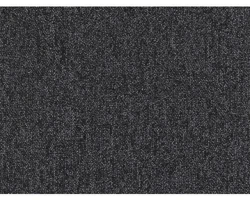 Teppichboden Schlinge Blitz schwarz 400 cm breit (Meterware)
