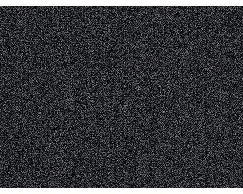 Moquette bouclée Sirio noir largeur 400 cm (au mètre)