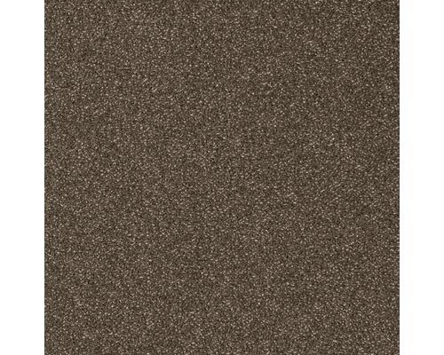Moquette Velours Optima marron largeur 400 cm (au mètre)