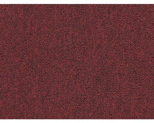 Moquette bouclée Blitz rouge largeur 400 cm (au mètre)