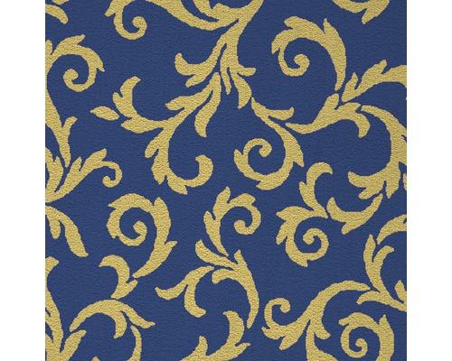 Teppichboden Saxony Mozart blau 400 cm breit (Meterware)