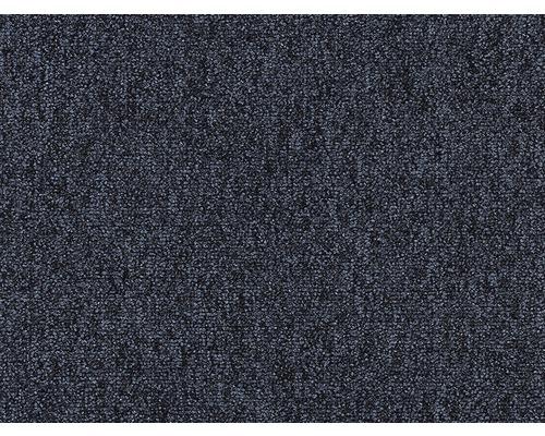 Teppichboden Schlinge Blitz blau 400 cm breit (Meterware)