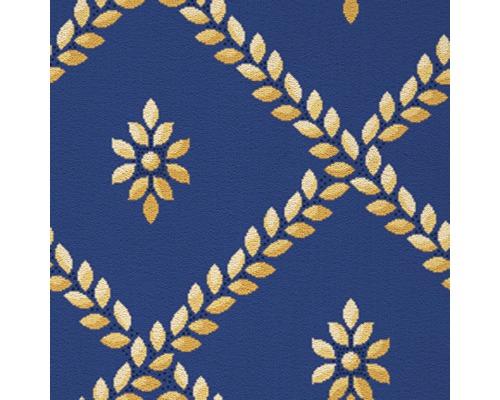 Moquette Saxony Campini bleu largeur 400 cm (au mètre)