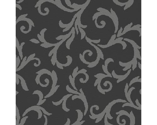 Moquette Saxony Mozart gris largeur 400 cm (au mètre)