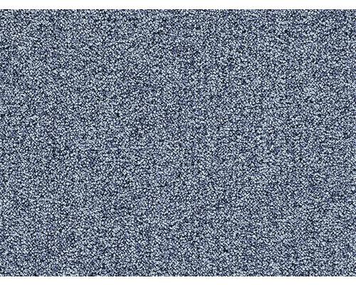Moquette bouclée Sirio bleu largeur 400 cm (au mètre)