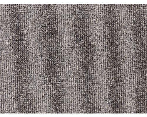 Teppichboden Schlinge Blitz braun 400 cm breit (Meterware)