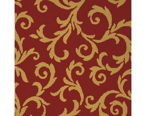 Teppichboden Saxony Mozart rot 400 cm breit (Meterware)