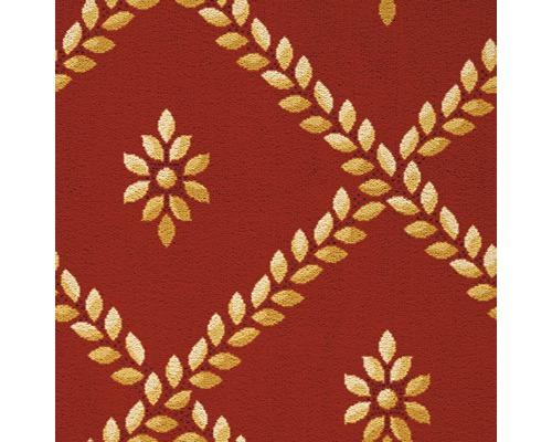 Teppichboden Saxony Campini rot 400 cm breit (Meterware)